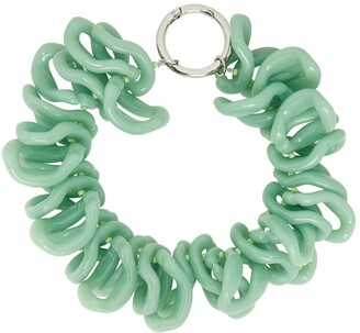 Dries Van Noten Green Acetate Necklace