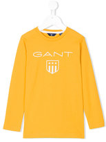 Gant Kids - logo print top - kids - Cotton - 4 yrs