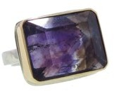 Jamie Joseph Rectangular Super Seven Ring