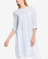 Vince Camuto TWO by Vince Striped High-Low Tunic