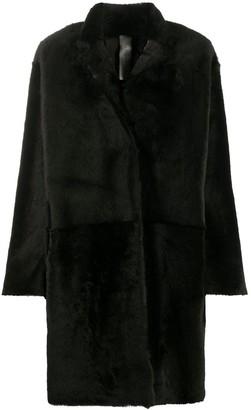 Furling By Giani Chantal Namibia shearling coat