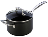 Le Creuset 3QT. Saucepan with Glass Lid