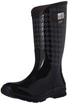 Bogs Women's Berkley Houndstooth Rain Boot