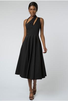 Aq/Aq Florenza Cut-Out Dress - Black