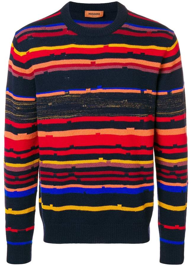 Missoni striped sweater