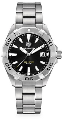 Tag Heuer Aquaracer 41MM Stainless Steel Quartz Bracelet Watch