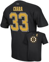 Reebok Men's Boston Bruins Zdeno Chara Player Tee