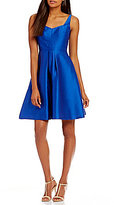 Calvin Klein Satin A-Line Party Dress