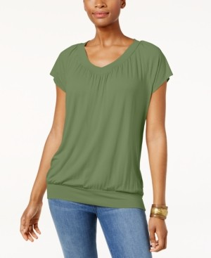 JM Collection Blouson T-Shirt, Created for Macy's