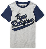 True Religion Boys 4-7) Logo Baseball Tee