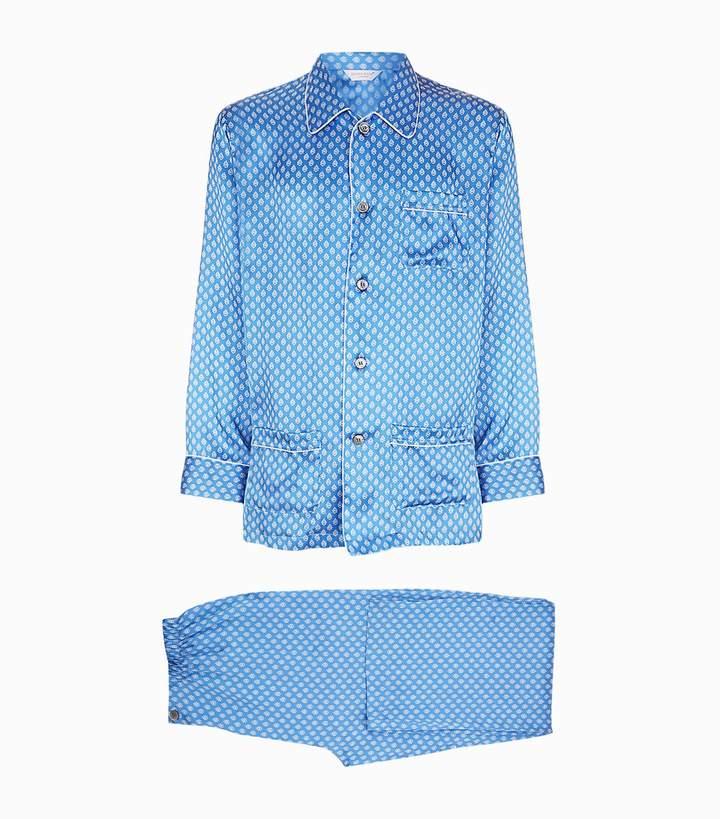 Derek Rose Silk Pyjama Set