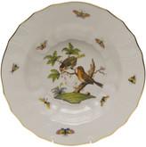 Herend Rothschild Bird Motif 10 Rim Soup Bowl