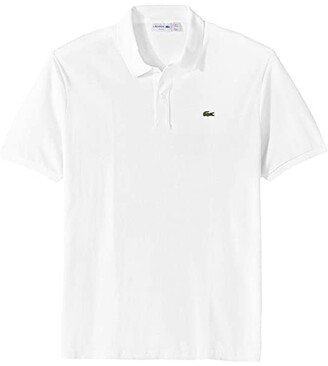 Lacoste Short Sleeve Slim Fit Pique Polo (Yellow) Men's Short Sleeve Pullover
