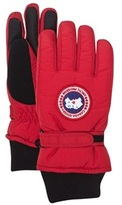 Canada Goose Red Youth Down Gloves