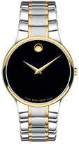 Movado Men's Serio Two-Tone Bracelet Watch