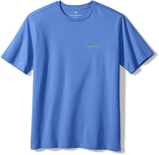 Tommy Bahama Men's Long May it Wave Graphic Tee
