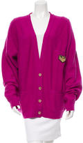 Sonia Rykiel Cashmere Embroidered Cardigan