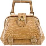 Judith Leiber Alligator Frame Bag