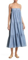 Apiece Apart Women's Tangiers Chambray Dress