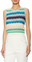 M Missoni Knit cotton Intarsia Top