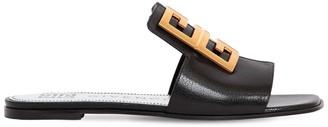 Givenchy 10mm 4g Leather Slide Sandals