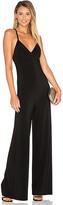 Norma Kamali Slip Jumpsuit in Black. - size L (also in M,S,XS)