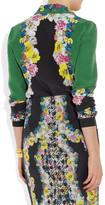 Erdem Cecilia printed silk blouse