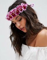 Asos Pretty Floral Tie Headband