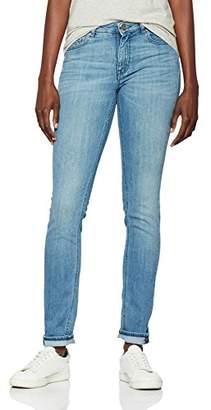 BOSS Women's Orange J20 10192502 01 Straight Jeans, (Bright Blue 435), W26/L32