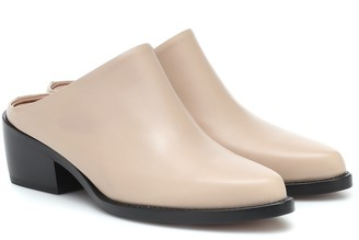 LEGRES Leather mules