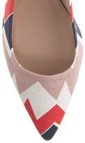 J.Crew Dulci printed kitten heels