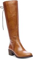 Steve Madden Women's Laceup Wide-Calf Tall Boots
