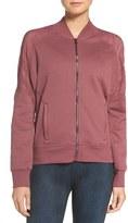 Alo Women's 'Tempt' Lace Yoke Bomber Jacket