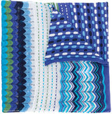 Missoni patterned scarf - women - Cotton/Viscose - One Size