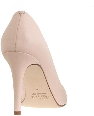 Sloane cap toe pumps