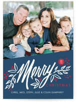 Minted Berry Merry Christmas Custom Selflaunch Stationery