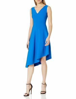 Milly Women's Asymmetrical Draped Dress