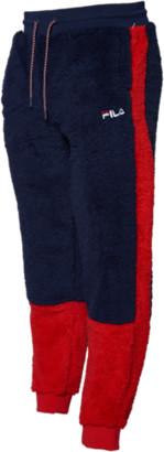 Fila Benso Pants - Oklahoma City Thunder - Peacoat / Chinese Red - Fleece