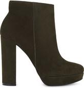 Aldo Emmanuela suede heeled ankle boots