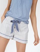 Fat Face Stripe Pyjama Shorts