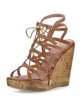 Joie Larissa Gladiator Wedge Sandal, Cuoio