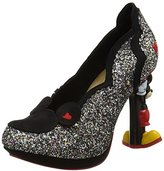 Irregular Choice Women's Minnie Mouse Closed-Toe Heels,37 EU