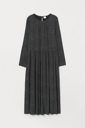 H&M Calf-length Dress - Black
