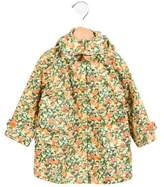 Stella McCartney Girls' Citrus Hooded Print Jacket