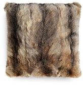 Yves Salomon Fox Fur Cushion