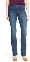 NYDJ Petite Women's 'Billie' Stretch Mini Bootcut Jeans