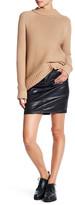 Big Star Kara Waxed Denim Skirt