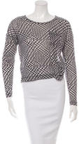Rag & Bone Printed Long Sleeve Top