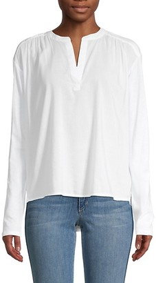 Splendid Sylvan Splitneck Blouse