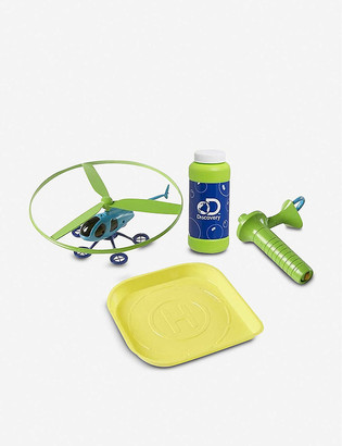 Fao Schwarz Discovery Bubble Helicopter set